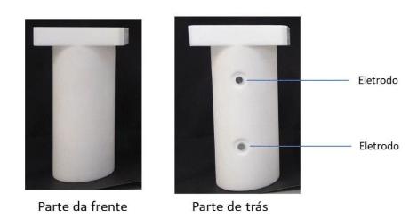 Figura 3: Copo de PTFE.<br/>FONTE: BIOPOL, (2020).